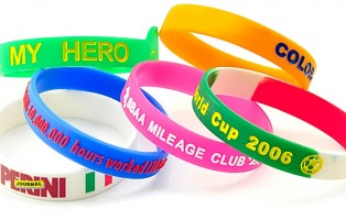 design rubber bracelet