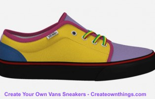 customized vans sneakers