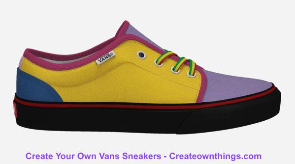 customized vans sneakers