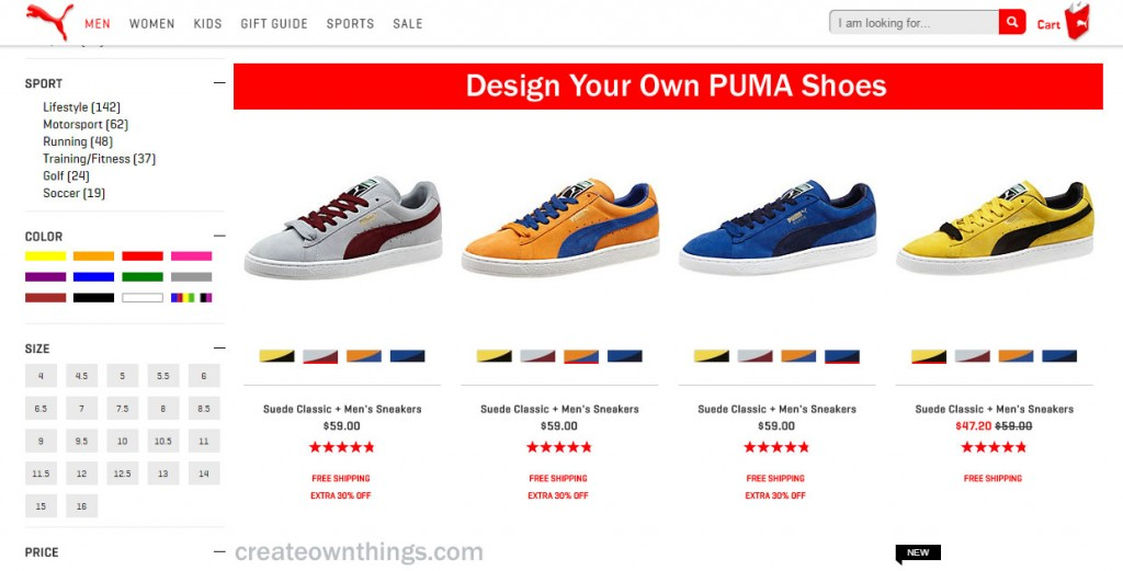 customize your pumas