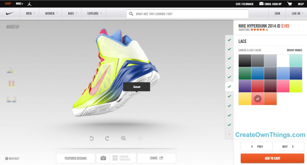 basketball shoes design