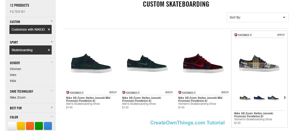 design your own skate shoes